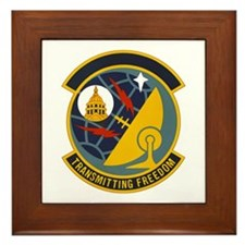 231st Combat Communications Framed Tile