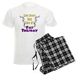 Fat Tuesday Men's Light Pajamas