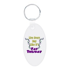 Fat Tuesday Keychains