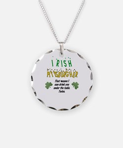 Irish Pittsburgher Necklace