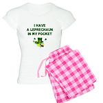 Pocket Leprechaun Women's Light Pajamas