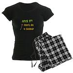 April 1st Sucker Women's Dark Pajamas