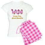 Mom Paycheck Women's Light Pajamas