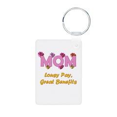 Mom Paycheck Keychains
