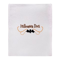 Halloween Diva Throw Blanket