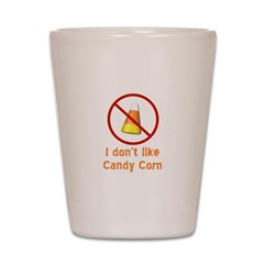 Candy Corn Shot Glass
