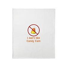 Candy Corn Throw Blanket