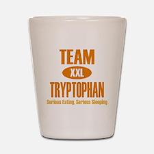 Team Tryptophan Shot Glass