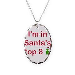 Santa's Top 8 Necklace