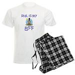 Phil BFF Groundhog Day Men's Light Pajamas