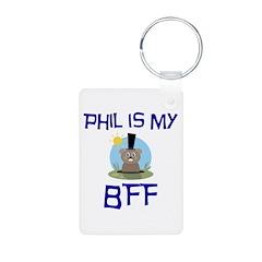 Phil BFF Groundhog Day Keychains