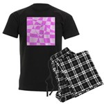 Heart Doodle Men's Dark Pajamas