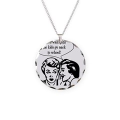 Kids Back To School Necklace