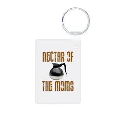 Nectar of the Moms Aluminum Photo Keychain