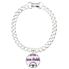 Mom Mobile Charm Bracelet, One Charm