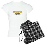 PittsburgH Women's Light Pajamas
