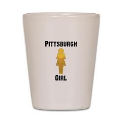 Pgh Girl Shot Glass