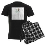 Night Owl Men's Dark Pajamas