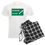 Porchville Exit Men's Light Pajamas
