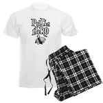 Polka Hero Men's Light Pajamas