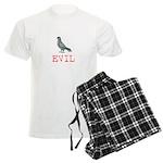 Evil Pigeon Men's Light Pajamas