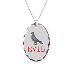 Evil Pigeon Necklace