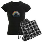 Undecided Rainbow Women's Dark Pajamas