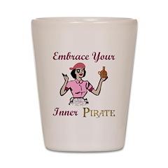 Inner Pirate Shot Glass