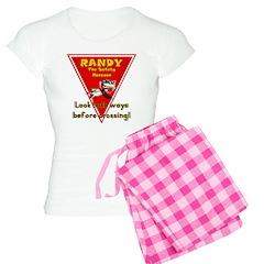 Randy Raccoon Pajamas