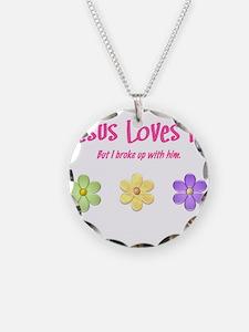 Jesus Loves Me Necklace