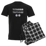 Titanium Testicles Men's Dark Pajamas