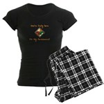 You're Only Here Women's Dark Pajamas