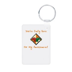 You're Only Here Keychains