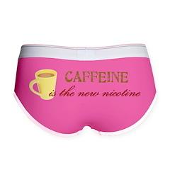 Caffeine/Nicotine Women's Boy Brief