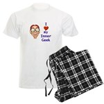 Boy Inner Geek Men's Light Pajamas