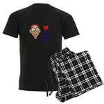 Boy Inner Geek Men's Dark Pajamas