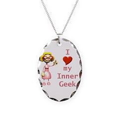 Inner Geek Girl Necklace