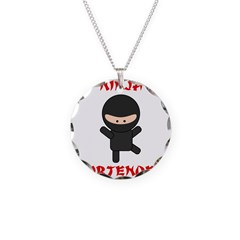 Ninja Bartender Plain Necklace