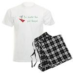 Smarter Than Your Therapist Men's Light Pajamas