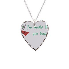 Smarter Than Your Therapist Necklace