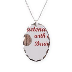 Bartender With Brain Necklace