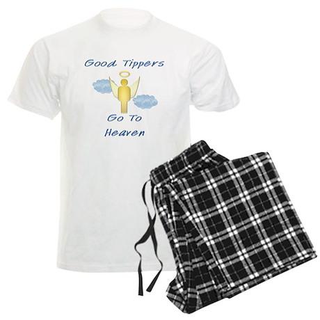 Good Tipper Angel Men's Light Pajamas