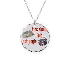 Tips should fold Necklace