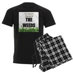 The Weeds Men's Dark Pajamas