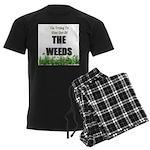 The Weeds Men's Dark Pajamas
