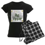 Future Big Tipper Women's Dark Pajamas