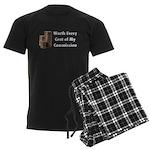 Worth Every Cent Men's Dark Pajamas