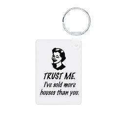 Trust Me Female Keychains