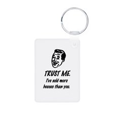 Trust Me Male Keychains