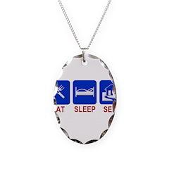 Eat. Sleep. Sell. Necklace